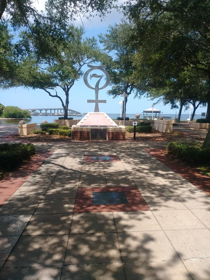 The Mercury 7 monument and park